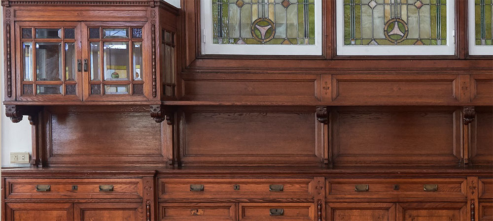 Detalles El diseño de muebles