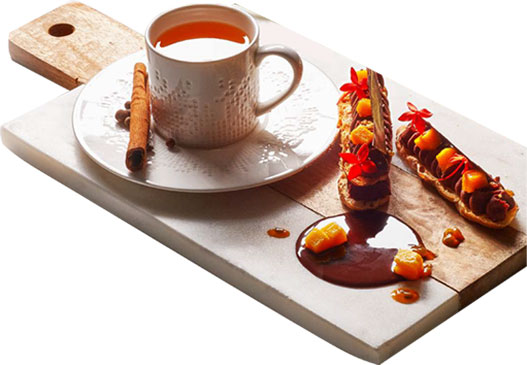 Espuma de chocolate _caliente dominicano