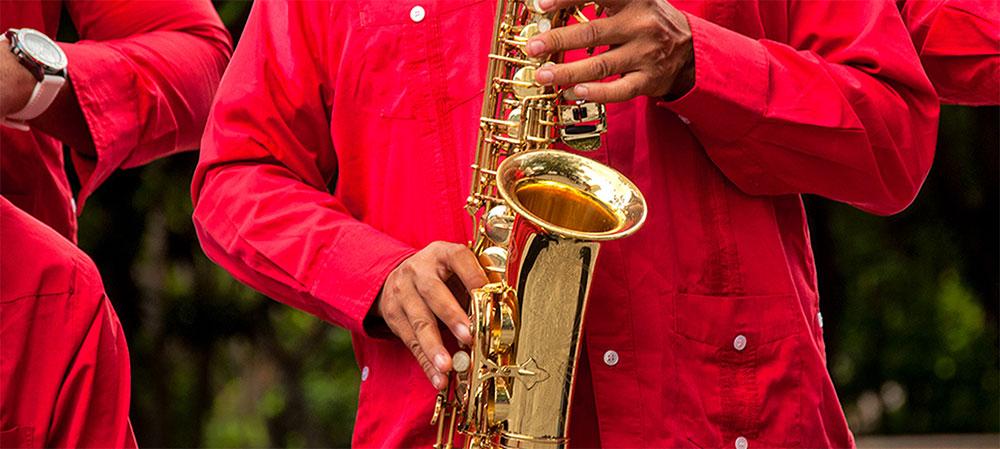 Instrumentos de viento El saxofón